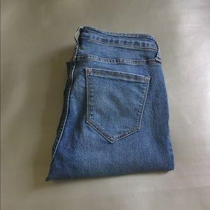 Cello hi rise step hem skinny jeans size 11